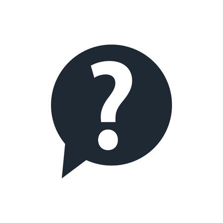 Illustration pour Question mark sign icon - image libre de droit