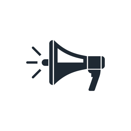 Ilustración de megaphone icon - Imagen libre de derechos