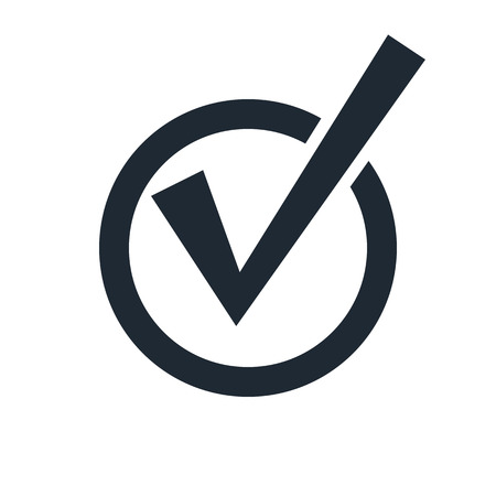 Illustration pour check mark icon - image libre de droit