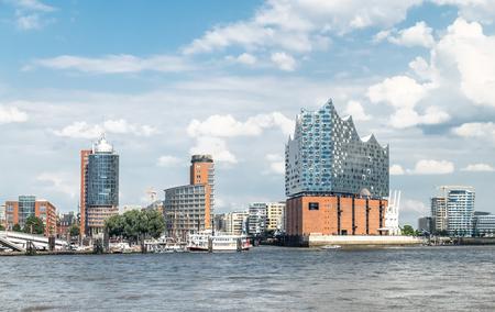 Photo for Hamburg, Elbphilharmonie, storage city - Royalty Free Image
