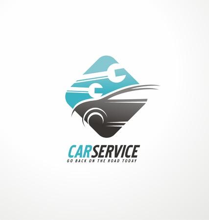 Illustration pour Car service - image libre de droit