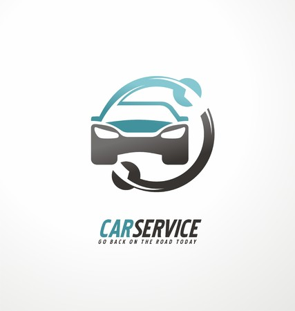 Photo for Car abstract vector design concept - Royalty Free Image