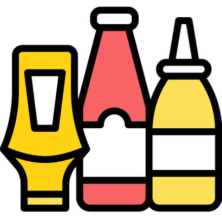 Squeeze bottle icon, Supermarket and Shopping mall related vector illustration
