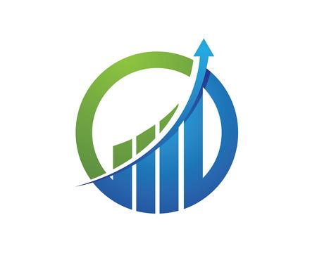 Illustration pour Business Finance professional logo template - image libre de droit