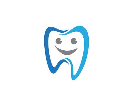 Illustration pour Dental logo template icon - image libre de droit