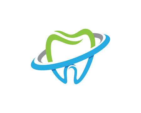Illustration pour Dental logo template icon - image libre de droit