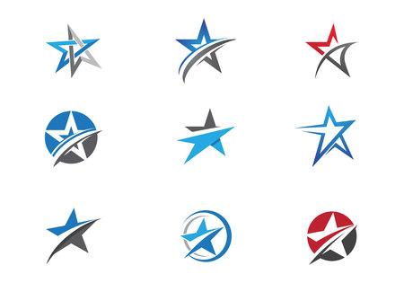 Illustration pour Star Logo Template - image libre de droit