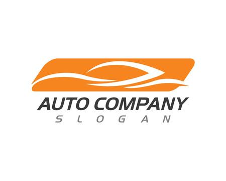 Illustration pour Auto car Logo Template isolated on white background, vector illustration. - image libre de droit