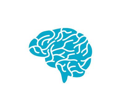 Illustration pour Brain vector illustration icon template - image libre de droit