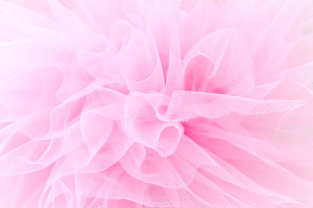 Photo pour Beautiful layers of delicate pink fabric - image libre de droit