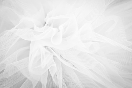 Photo pour Beautiful delicate background mesh fluffy fabric Black and white - image libre de droit