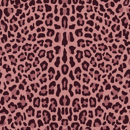 Illustration for Leopard Seamless Pattern - Royalty Free Image