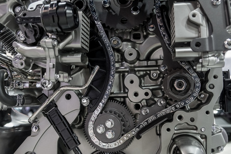 Photo pour Timing timing gears and chains - image libre de droit