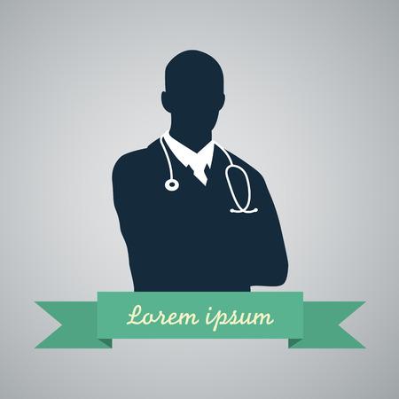 Illustrazione per Medical doctor icon - Immagini Royalty Free