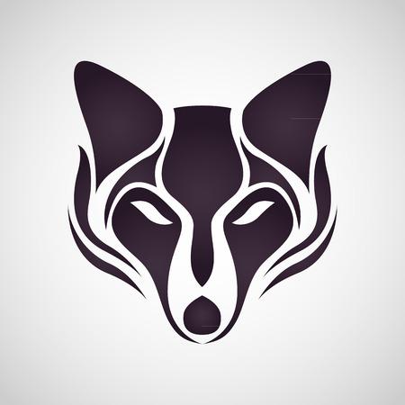 Illustration pour FOX logo vector - image libre de droit