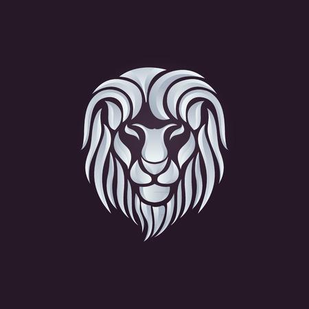 Illustration pour Lion logo vector - image libre de droit