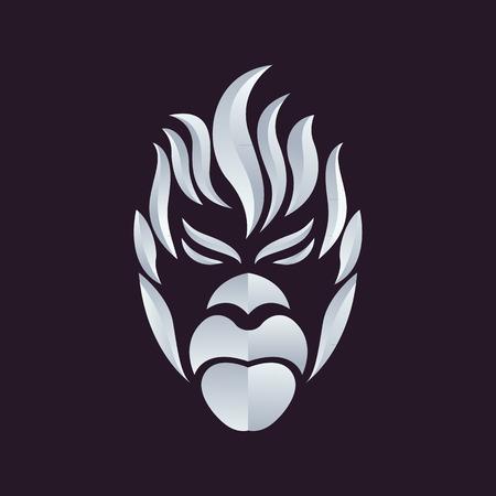Illustration pour Ape logo vector - image libre de droit