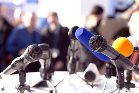 Photo for News conference - Royalty Free Image
