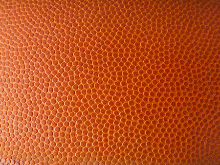 Photo for Basketball ball detail leather surface texture background - Royalty Free Image