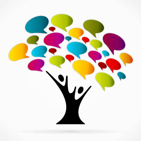 Photo pour Communication tree - image libre de droit