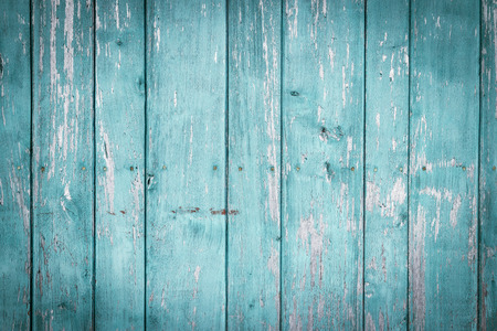 Foto de Old painted wood wall - texture or background - Imagen libre de derechos