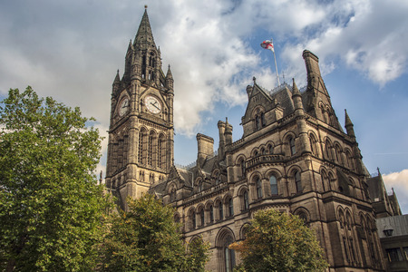 Photo for Manchester Town Hall, UK - Royalty Free Image
