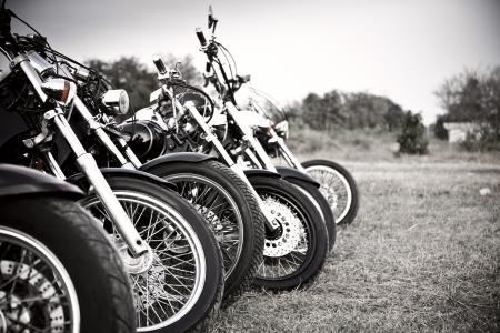 Bikes at the bike show