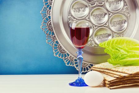 Foto de Jewish Passover holiday celebration - Imagen libre de derechos