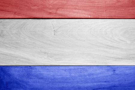 Photo pour Wooden texture for USA national holidays - image libre de droit