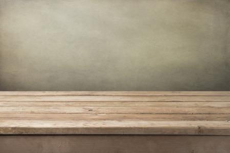 Foto de Vintage wooden table background - Imagen libre de derechos