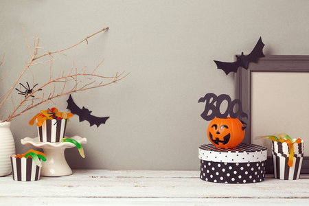 Photo for Halloween website header design with copy space - Royalty Free Image