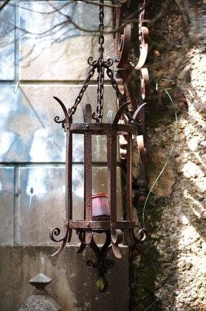 Photo for ornamental funeral lamp - Royalty Free Image