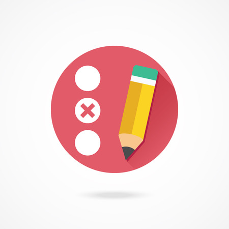 Photo pour Vector Quiz Icon - image libre de droit