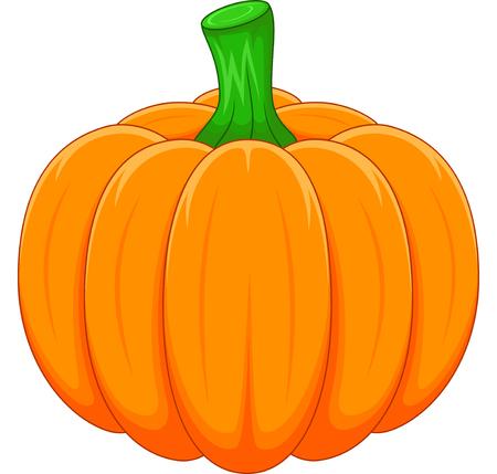 Illustration for Cartoon pumpkin - Royalty Free Image