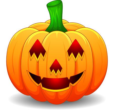 Ilustración de Halloween pumpkin - Imagen libre de derechos