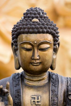 Foto de Buddha statue buddha image used as amulets of Buddhism religion - Imagen libre de derechos