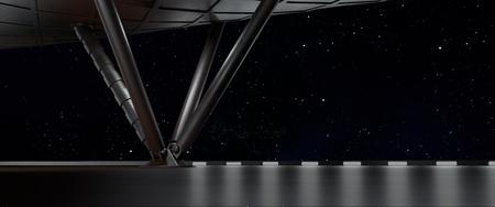Photo pour space environment, ready for comp of your characters.3d render - image libre de droit
