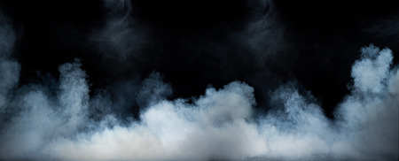 Photo pour Image of a swirling dense smoke - image libre de droit