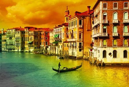 Amazing Venice - artistic toned picture