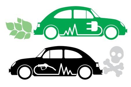 Photo pour Eco car concept. - image libre de droit
