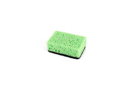 Photo for sponge for washing dishes, isolated on white background. - Royalty Free Image