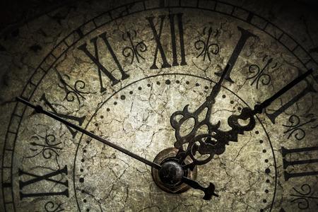 Foto de Antique clock - Imagen libre de derechos