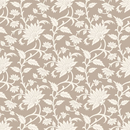Illustration pour Seamless floral background - image libre de droit