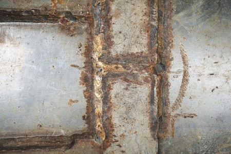Foto de Old rusty wall texture - Imagen libre de derechos