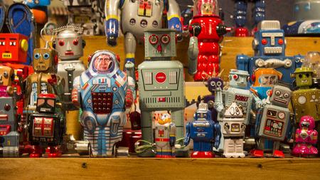 Photo pour stand of toys - image libre de droit