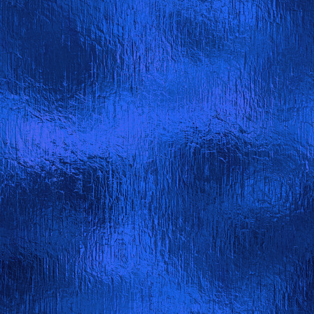 Photo for Blue Foil Seamless Background Texture - Royalty Free Image
