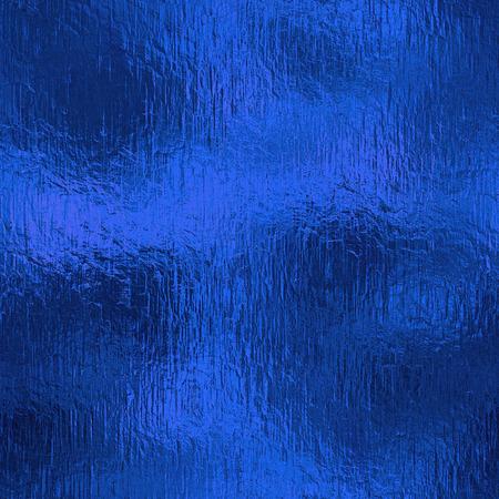 Photo pour Blue Foil Seamless Background Texture - image libre de droit