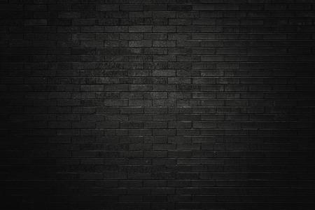 Foto de Black brick wall for background  - Imagen libre de derechos