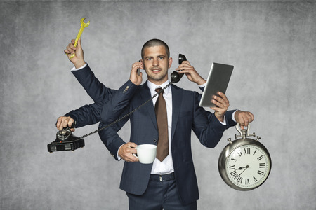 Foto de multipurpose businessman - Imagen libre de derechos