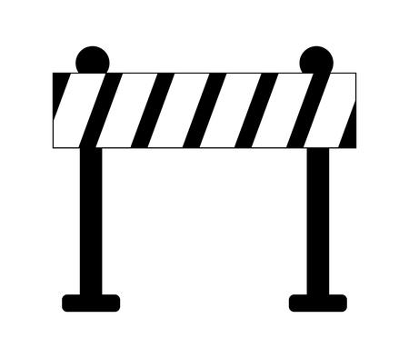 Ilustración de icon roadblocks - Imagen libre de derechos